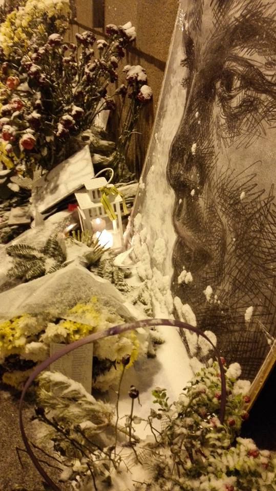 331 day of lena hades' art marathon in memory of Boris Nemtsov