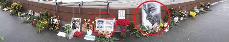 Сегодня похищены 2 портрета Немцова работы Лены Хейдиз