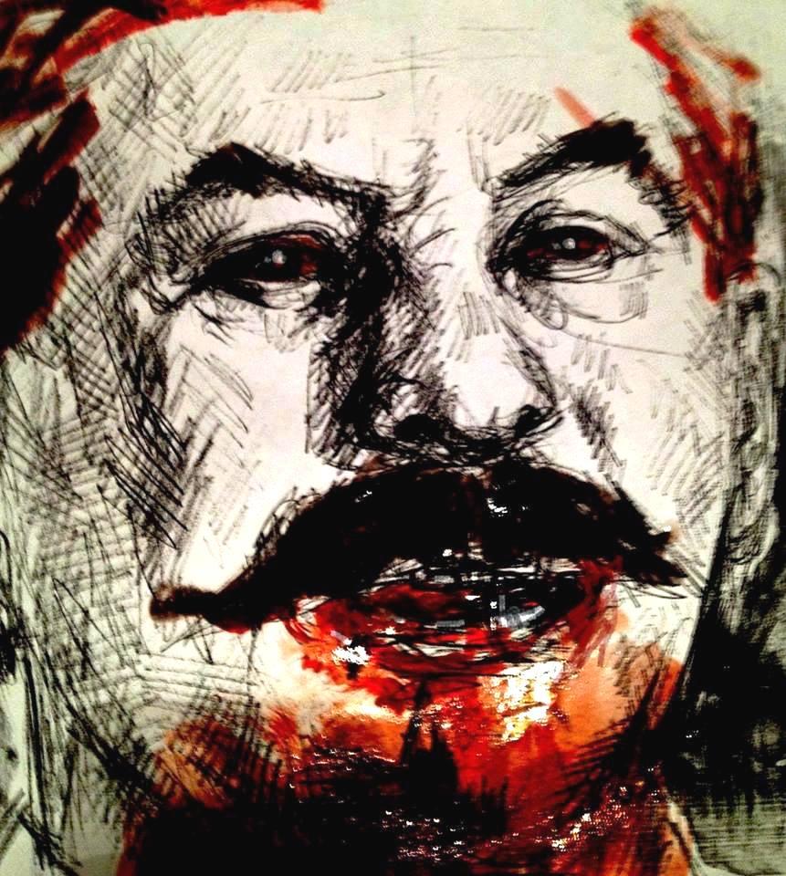 Joseph Stalin by Lena Hades