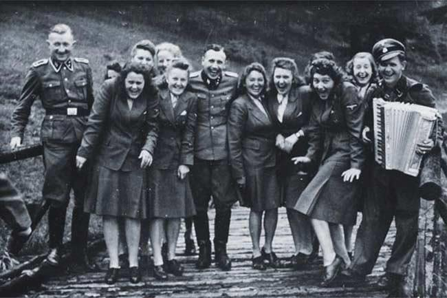 Auschwitz concentration camp's personnel.
