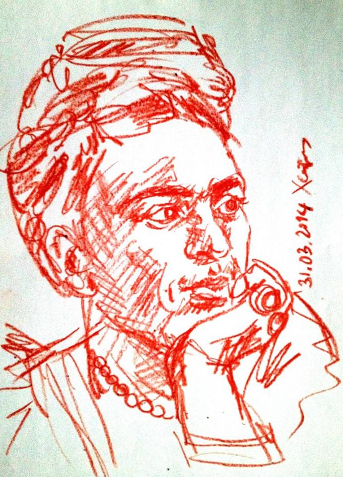 Frida Kahlo by Lena Hades