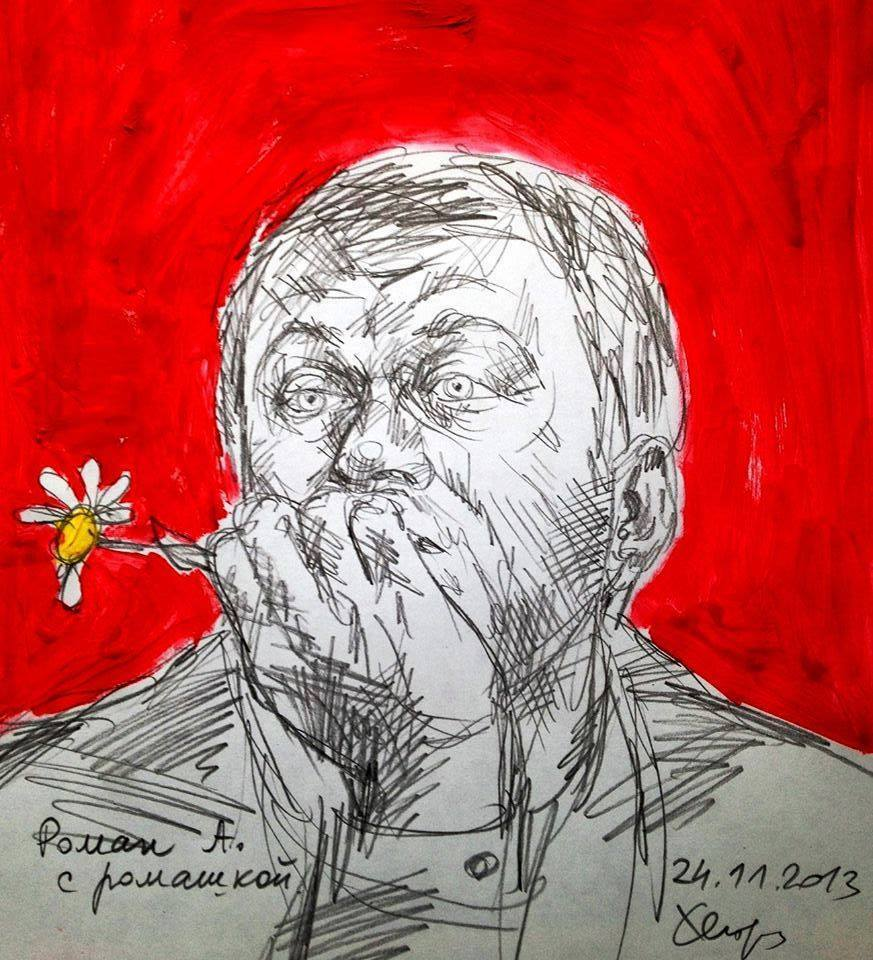 Roman Abramovich by Lena Hades